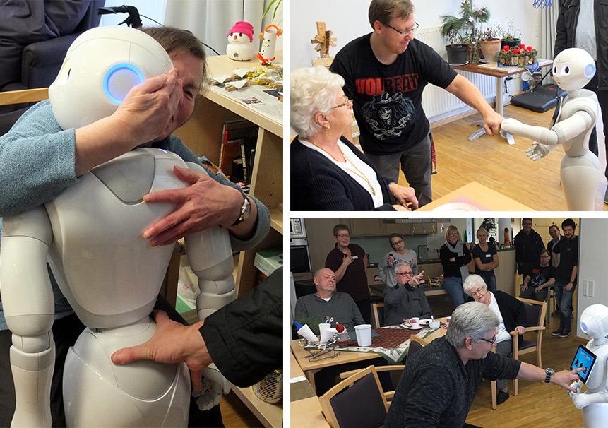 AG Robotik bei der Caritas Kamp Lintfort
