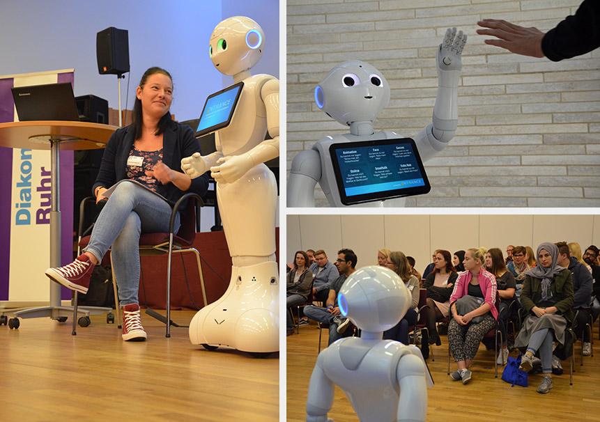 AG Robotik in der Diakonie Ruhr