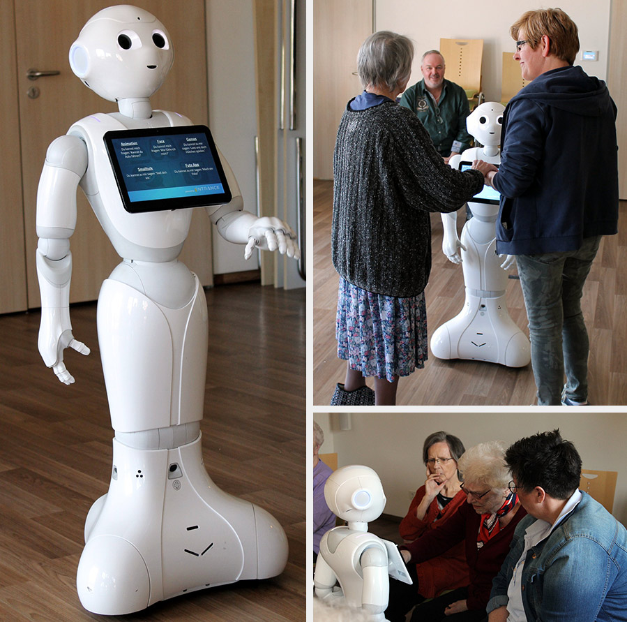 AG Robotik bei der Guten Hoffnung