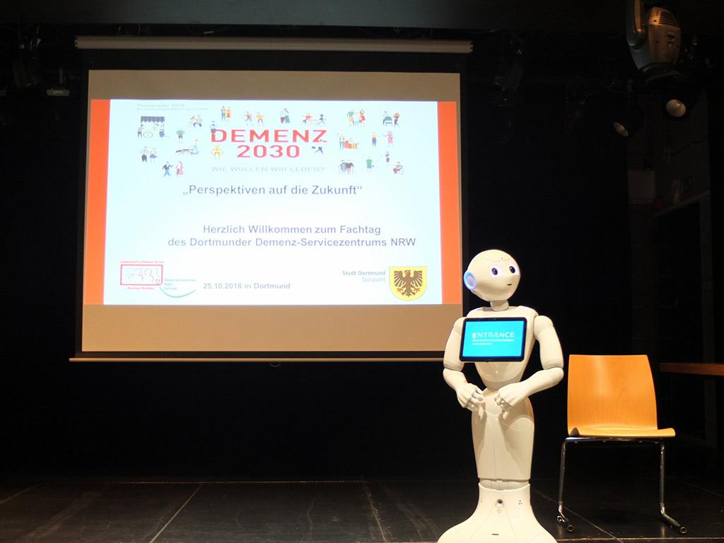 Robotik AG beim Demenzzentrum Dortmund