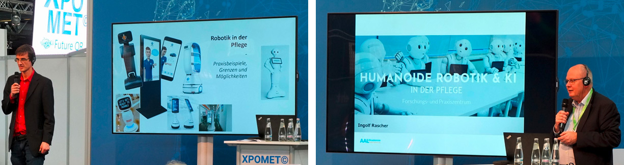 XPOMET Workshop Berlin, Robotik in der Pflege
