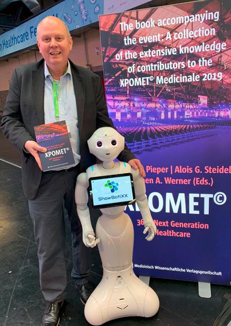 Ingolf Raacher, XPOMET - Cooperating Human/Robotic Teams in Healthcare