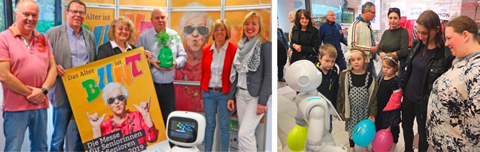 Robotik: Messe, das Alter ist bunt in Oberhausen