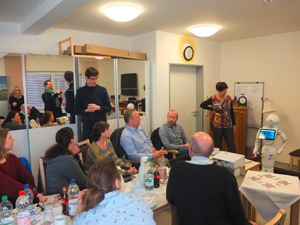 AG Pflege zu Gast beim ASB NRW im Annemarie-Renger-Haus Oberhausen