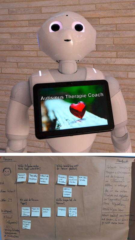 Robotikeinsatz in der Autismustherapie